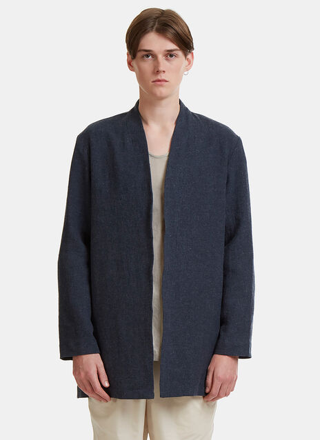 Cosmic Wonder Collarless Coat