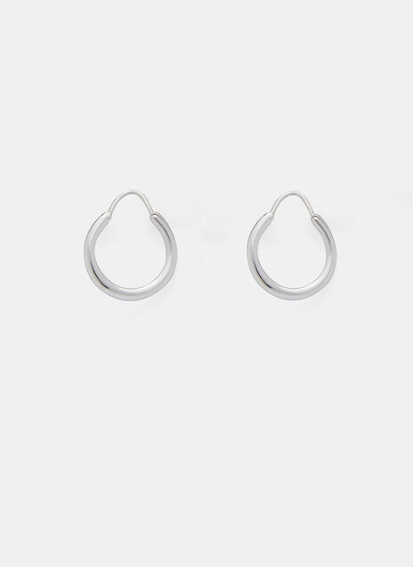 Hungry Baby Snake Polished Earrings