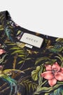 Floral Embroidered Botanic T-Shirt
