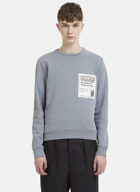 Maison Margiela Stereotype Patch Sweatshirt