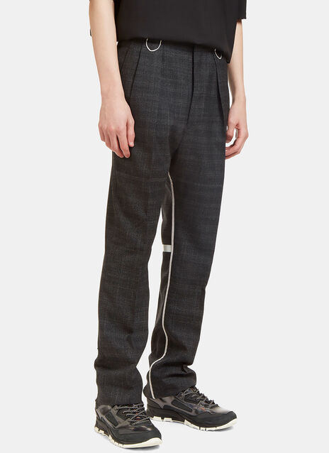 Reflective Looped High-Waisted Pants