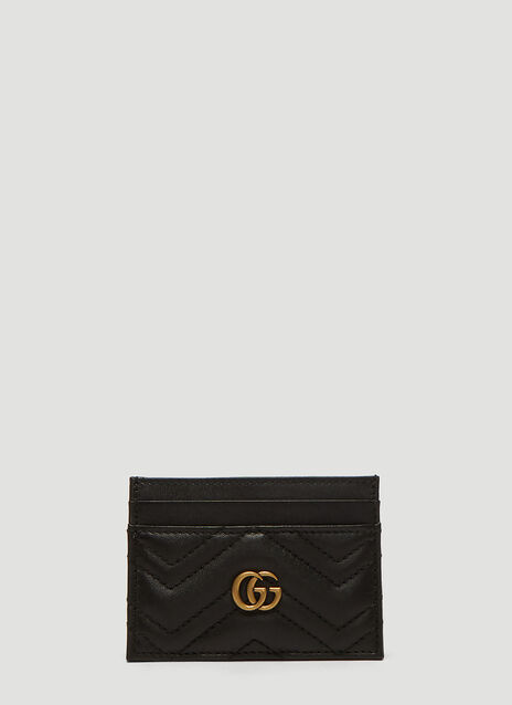 Marmont Monogram Quilted Card Case