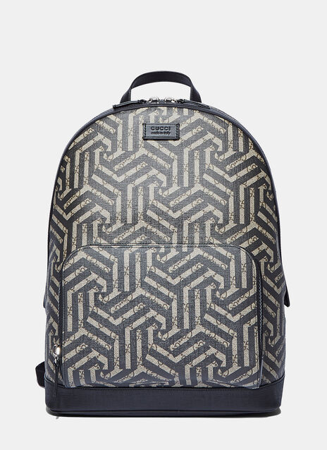 Zaino Geometric Print Backpack