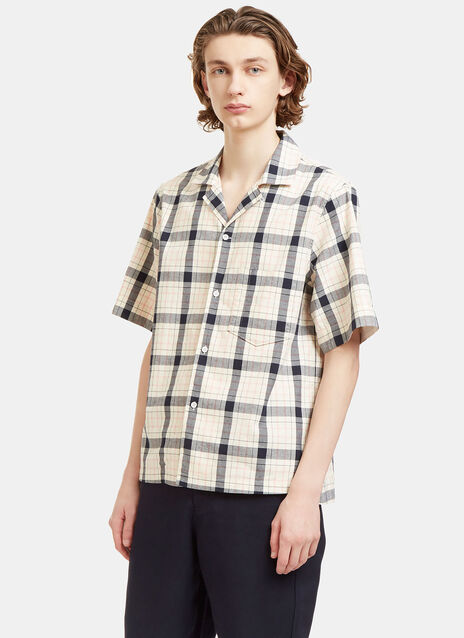 Elm Big Checked Short Sleeved Shirt