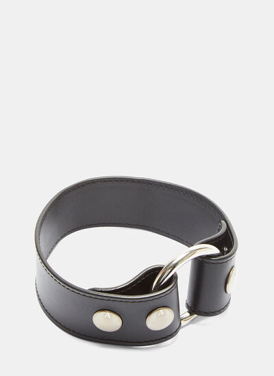 Alyx Metal Ring Leather Choker