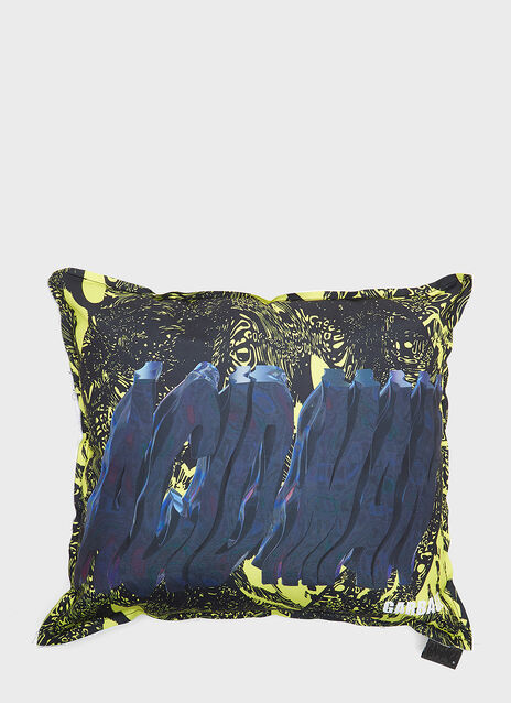 Garbage TV Soften Up Graphic Print Cushion