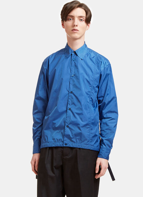 Lightweight Technical Coach Shirt Jacket