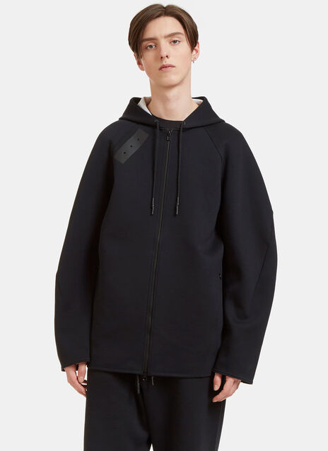Sport Z Oversized Zip-Up Hooded Sweater