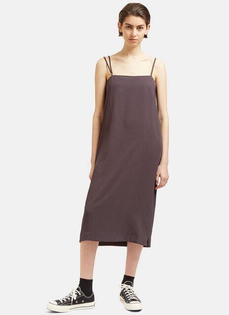 Safira Zip-Up Spaghetti Strap Dress