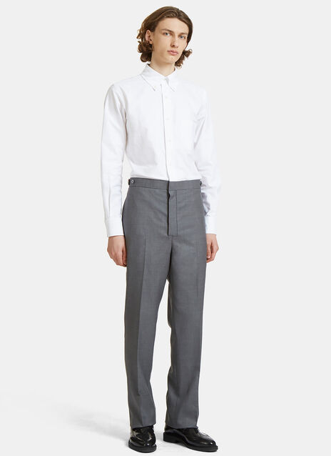 Classic Fit Side Tab Oxford Jumpsuit