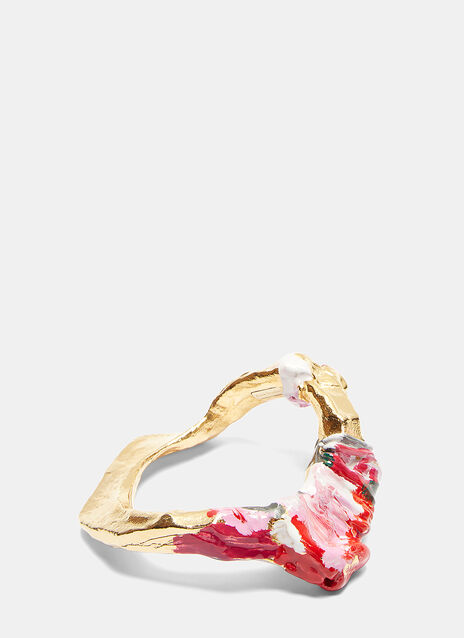 Acne Studios Aggy Painted Bangle