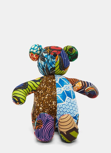 African Pattern Teddy 13