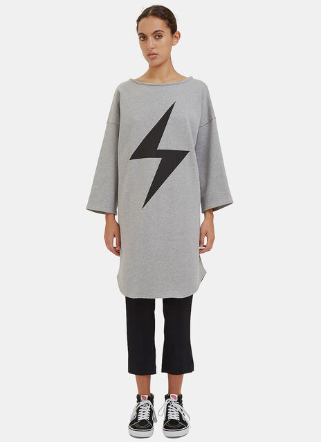 Oversized Lightning Bolt Sweater