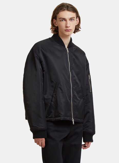 Raf Simons Oversized Any Way Out Bomber Jacket