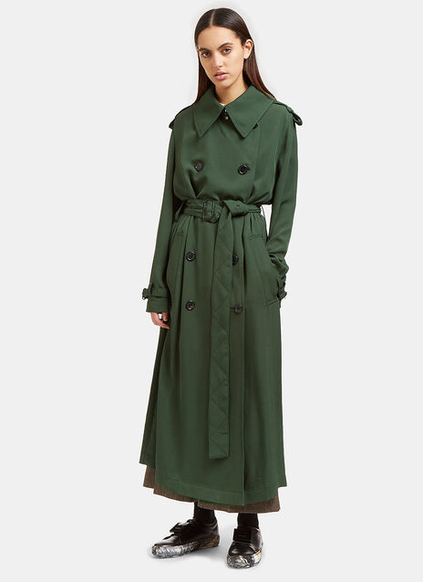 Lucie Long Trench Coat