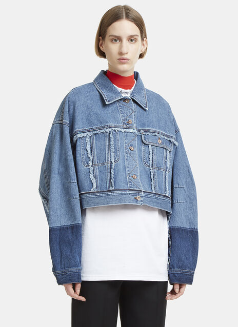 Kremi Frayed Edge Denim Jacket