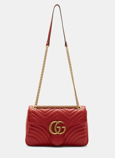 GG Marmont Matelassé Medium Chain Shoulder Bag