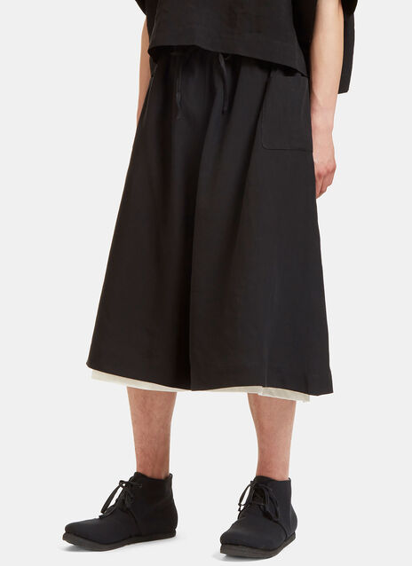 Oversized Dropped Crotch Shorts