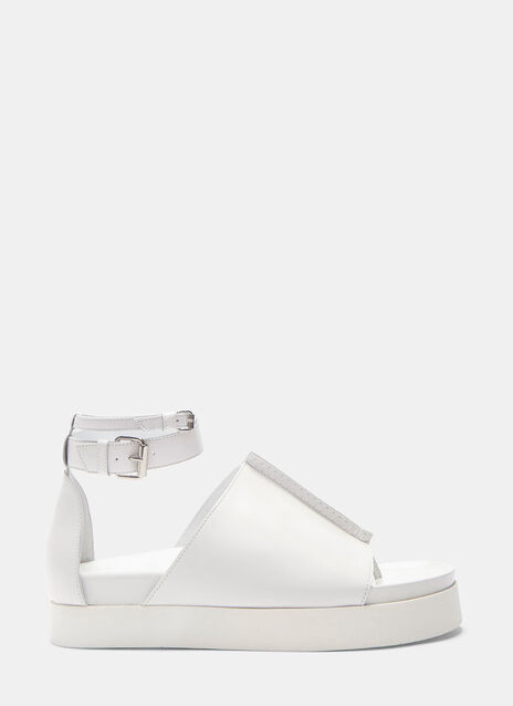 Rhyme Platform Leather Sandals