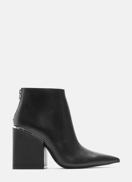 Oversized Block Heeled Boots