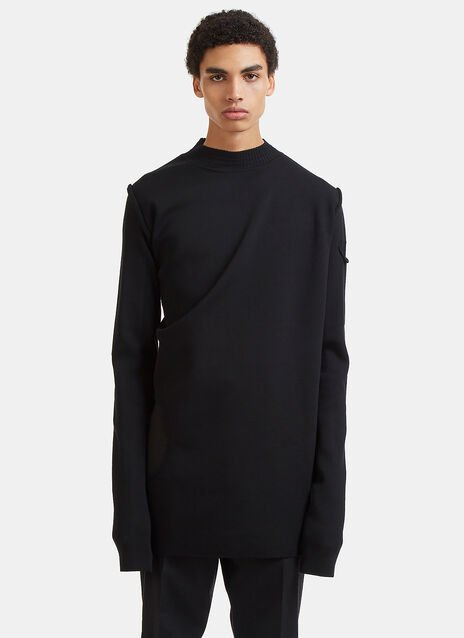 Subhuman Long Cut-Out Sweater