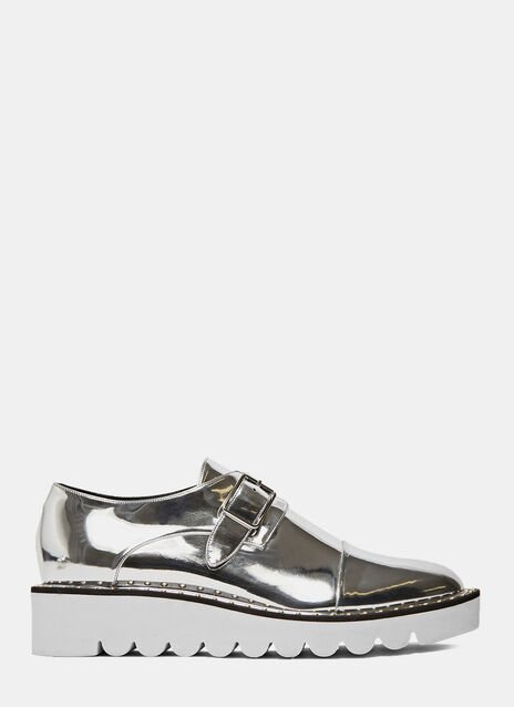 Odette Metallic Brogues