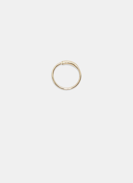 Small Single Fine Hoop Earring