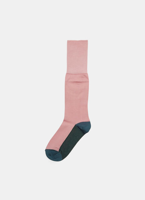 Colour-Blocked Socks