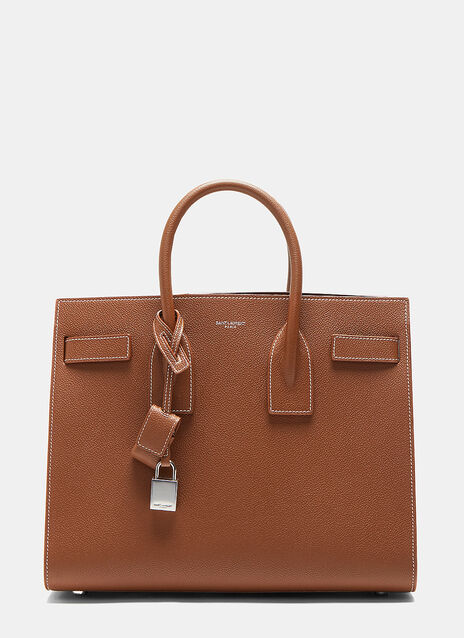 Classic Small Sac de Jour Leather Handbag