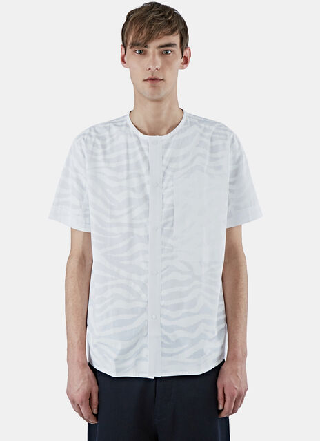 Short Sleeved Snap Front Shirt