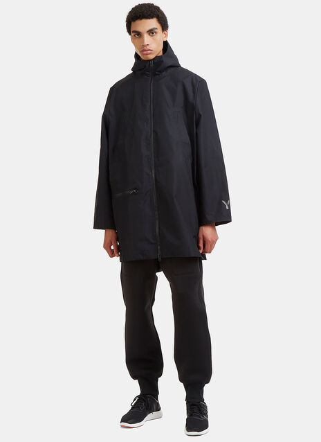 Mid-Length Technical Rain Jacket