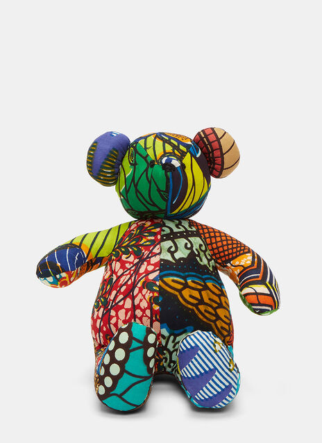 African Pattern Teddy 4