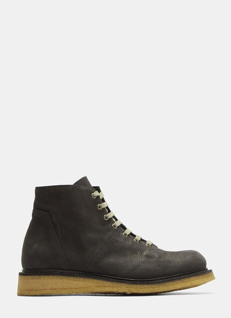 Rick Owens Worker Monkey Boots
