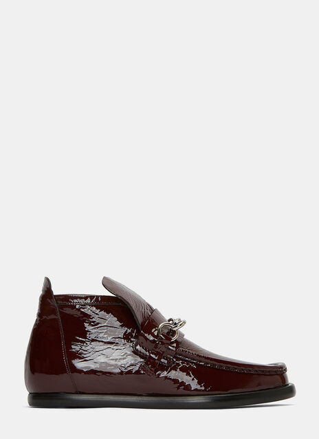 Kerin Patent Loafer Boots