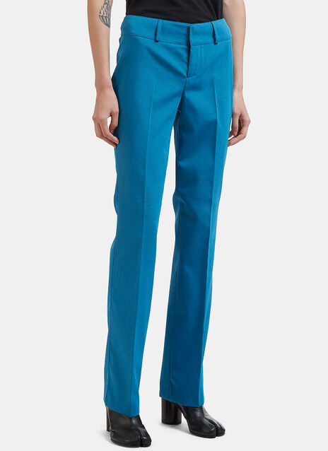 Pleated Twill Pants