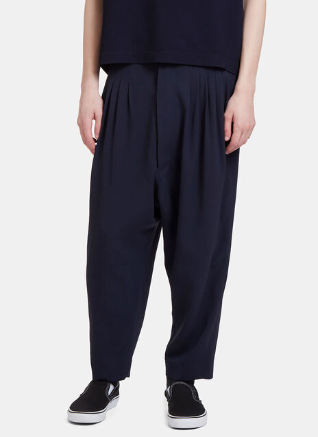 Joseph Pleated Dropped Crotch Pants