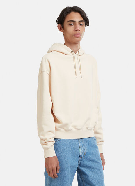 Eckhaus Latta Cropped Hooded Sweatshirt