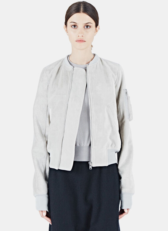 Rick Owens Cropped Flight Bomber