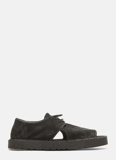 Marsell Sacchettolo Cut-Out Shoes