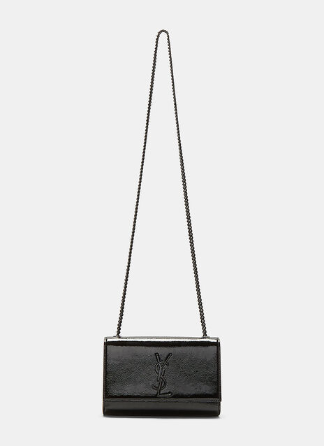 Small Kate Patent Chain Bag