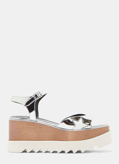 Stella McCartney Hackney Star Platform Sandals