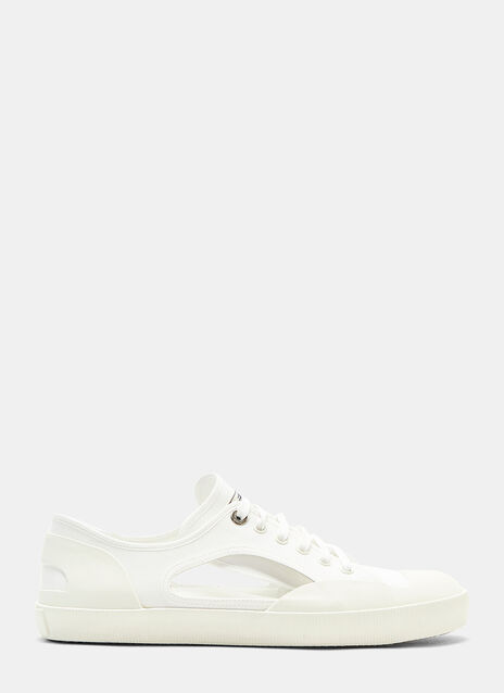 Lanvin Open Low Top Sneakers