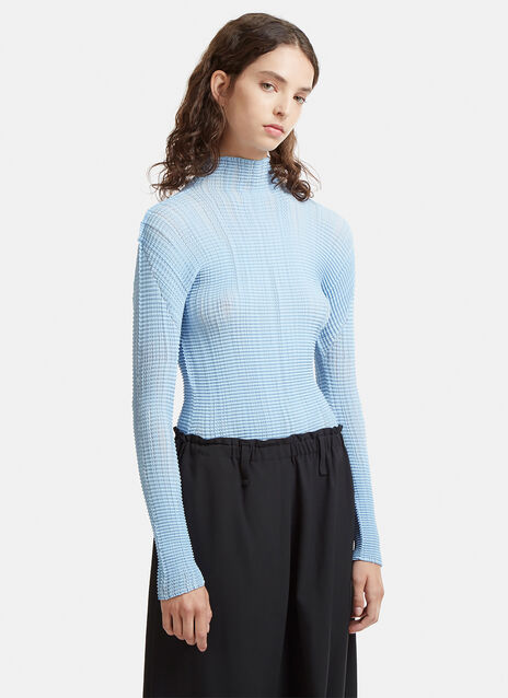 Long Sleeved Wave Top