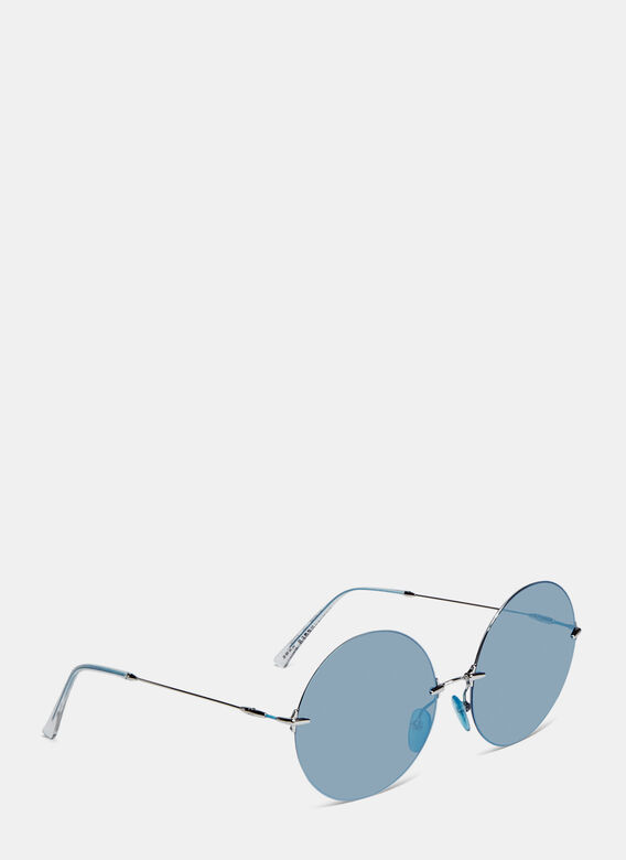Christopher Kane Oversized Round Sunglasses