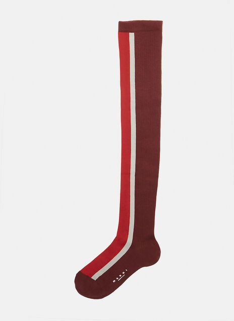 Above-The-Knee Stripe Sock