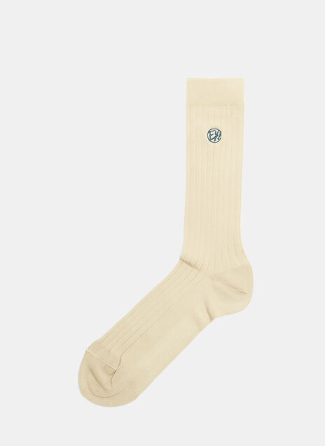 Kelly Ribbed Calf Length Socks