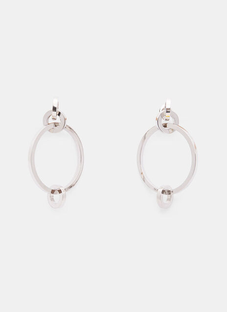 4 Circle Hoop Earrings