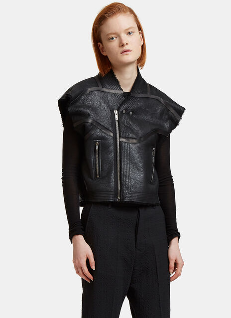 Oversized Cyclo Biker Jacket