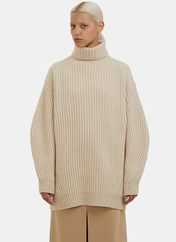Acne Studios Isa Oversized Roll Neck Sweater