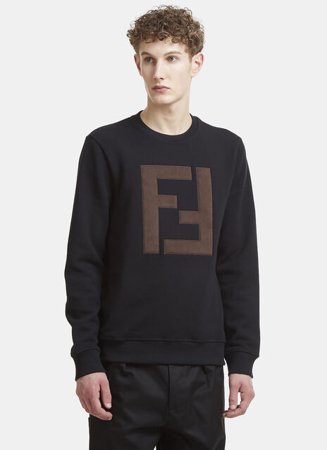Fendi Cushioned FF Logo Sweater